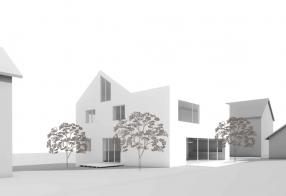 haus b - umbau und erweiterung eines zweifamilienhauses